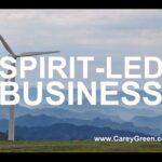 Spirit led business (PT 1) | Christians in Business | Christian Business Coach | Business Coaching